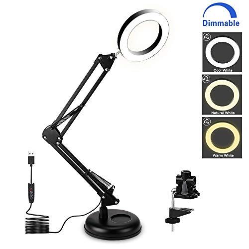 Lloytron Navy Blue Flexi Neck Desk Table Study Office Light Flexible Lamp New